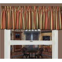Coffee Curtain Valance Decor Kitchen Valances