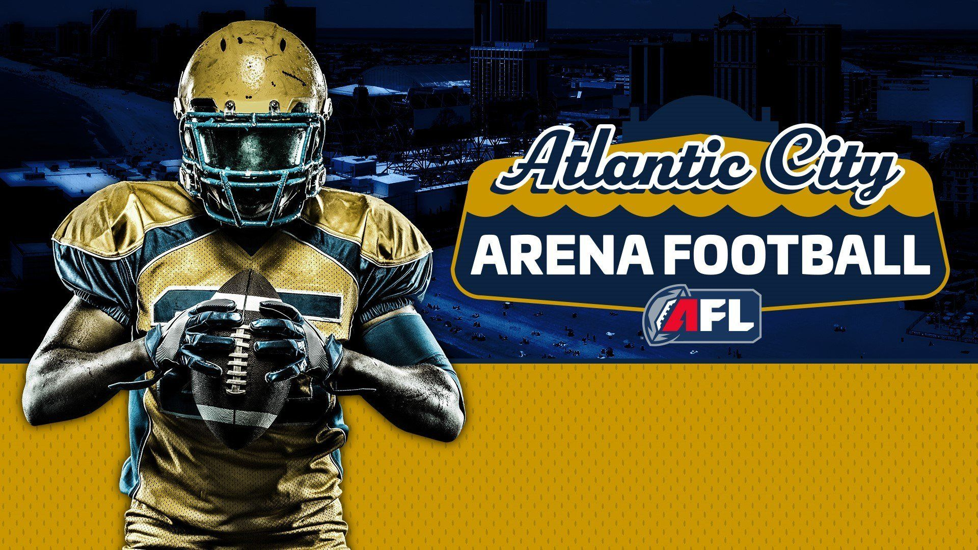Arena Football League Approves Atlantic City Expansion Team Will Play Inside Boardwalk Hall Arena Football Football League Football