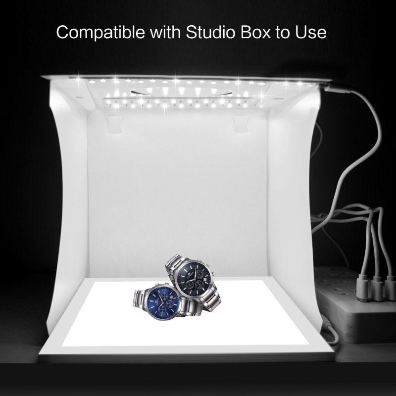 LED Photography Shadowless Light Lamp Panel Pad  Studio Shooting Tent Soft Box Set DC128 Price 2564  FREE Shipping fashiondesigner shop women wristwatch amazon topbrand e...