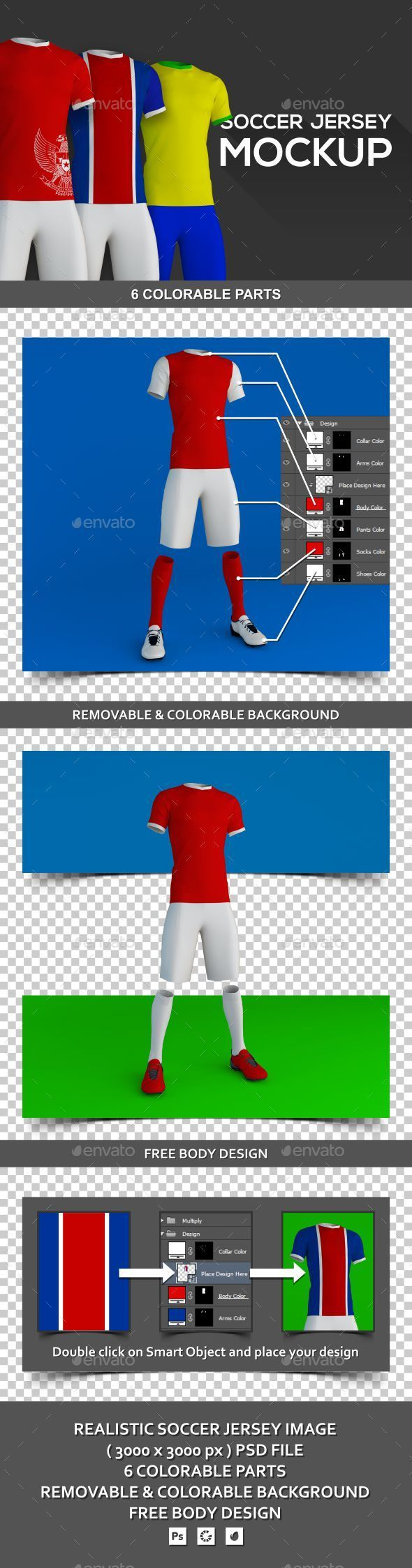 Download Soccer Jersey Mockup Mockup Soccer Jersey Clothing Mockup