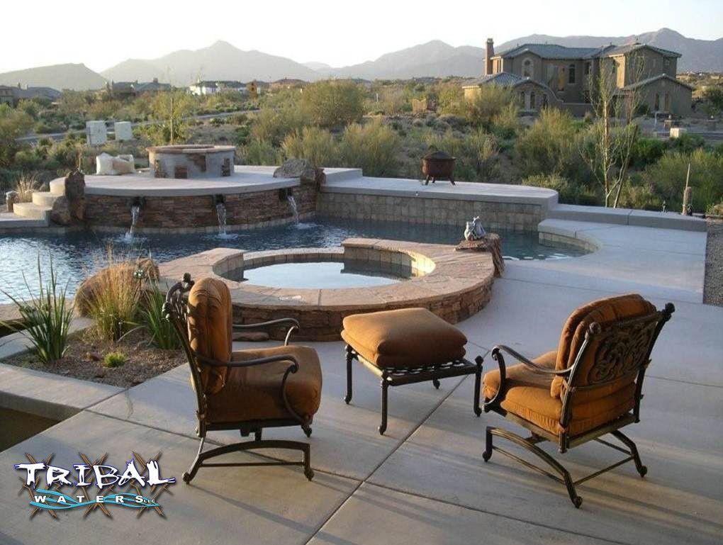tribal waters custom pools and spas arizona tribal waters