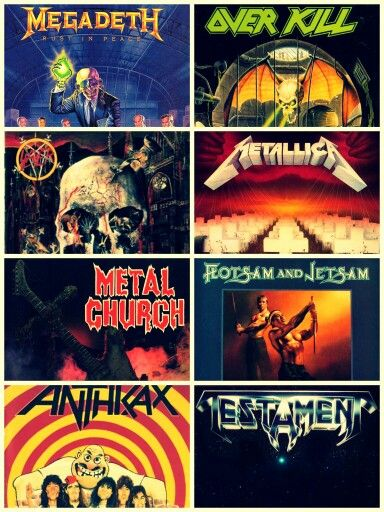 Thrash Metal classic albums