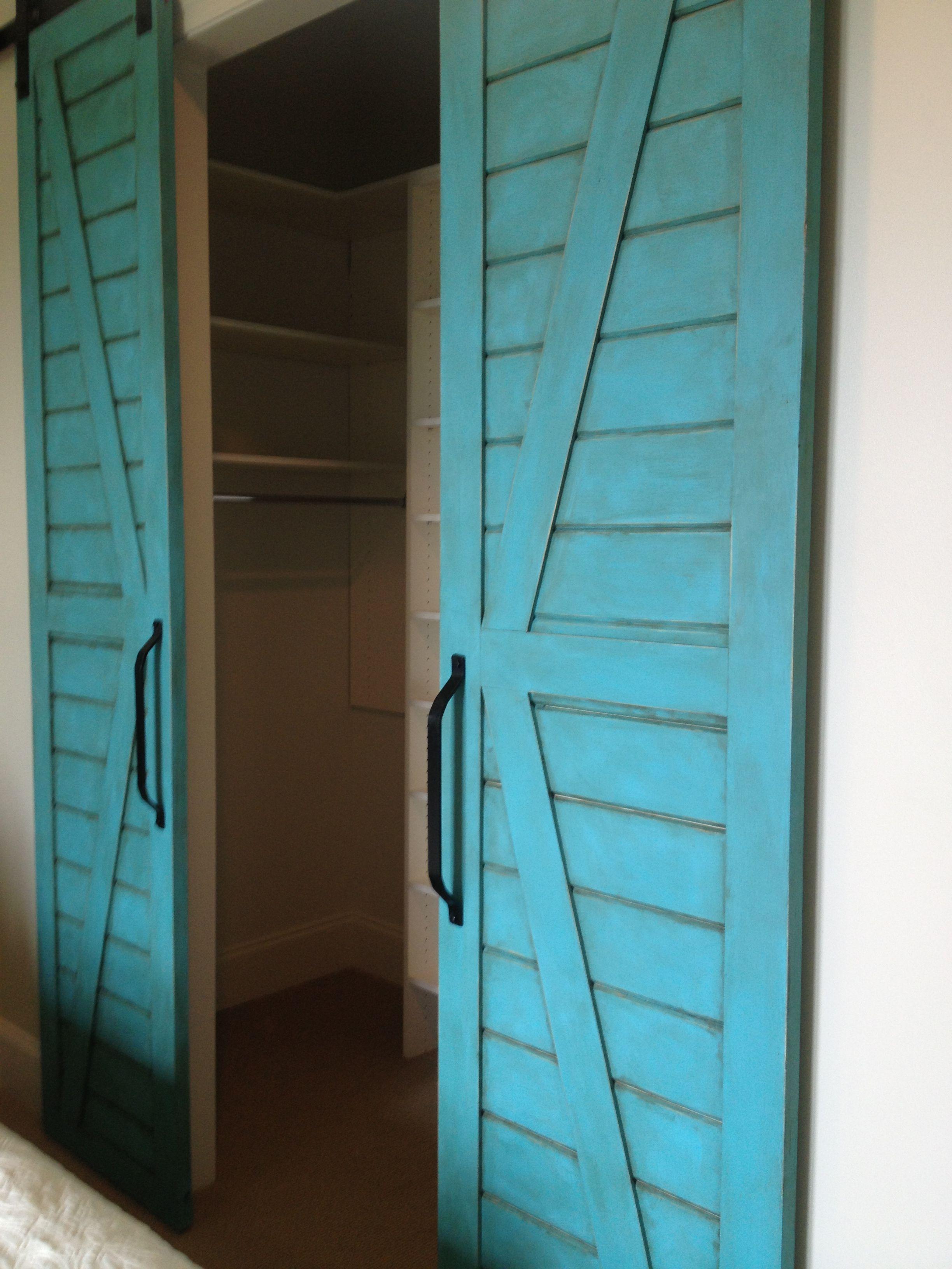 Rental redo Closet doors