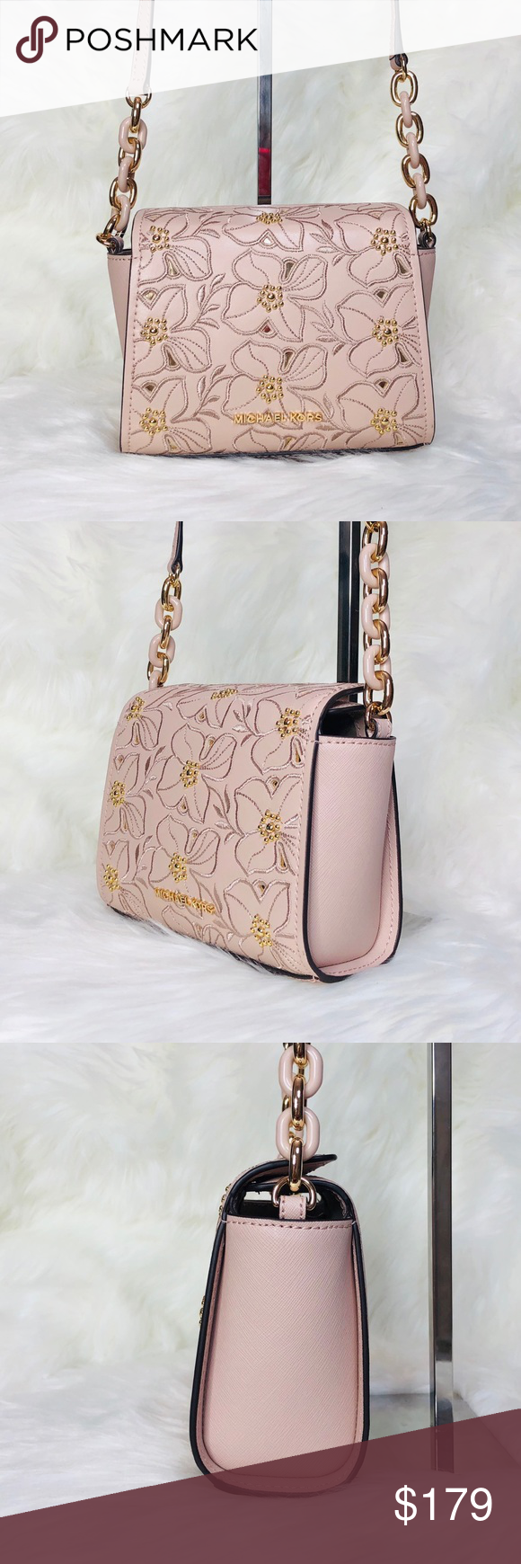 c42242e6ffcc Michael Kors Sofia Small Floral Crossbody Bag Michael Kors Sofia Small  Studded Floral Crossbody Bag Color