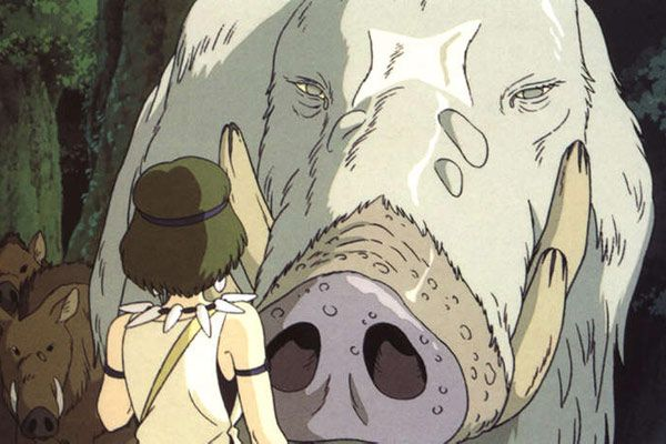 Boar god in Princess Mononoke | Cinema, Imagine, Pinterest