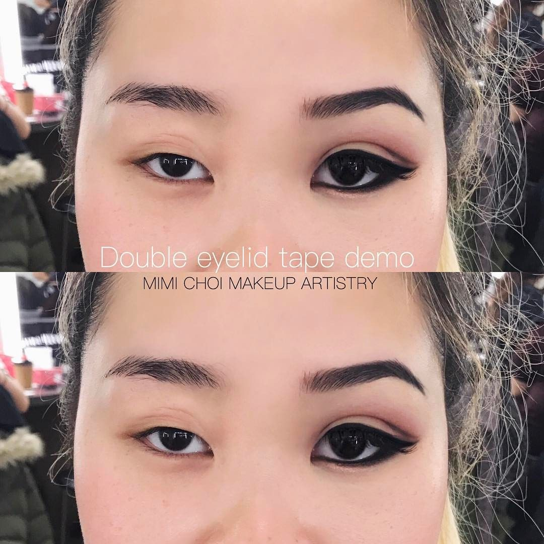 "MIMI CHOI no Instagram: ""A double eyelid tape demo"