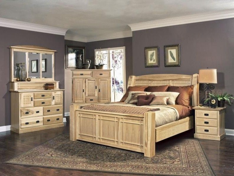 13 Breathtaking hickory bedroom furniture sets Picture Idea ...