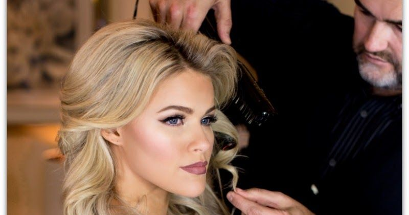'Dancing With The Stars' Witney Carson's Wedding Hair Get
