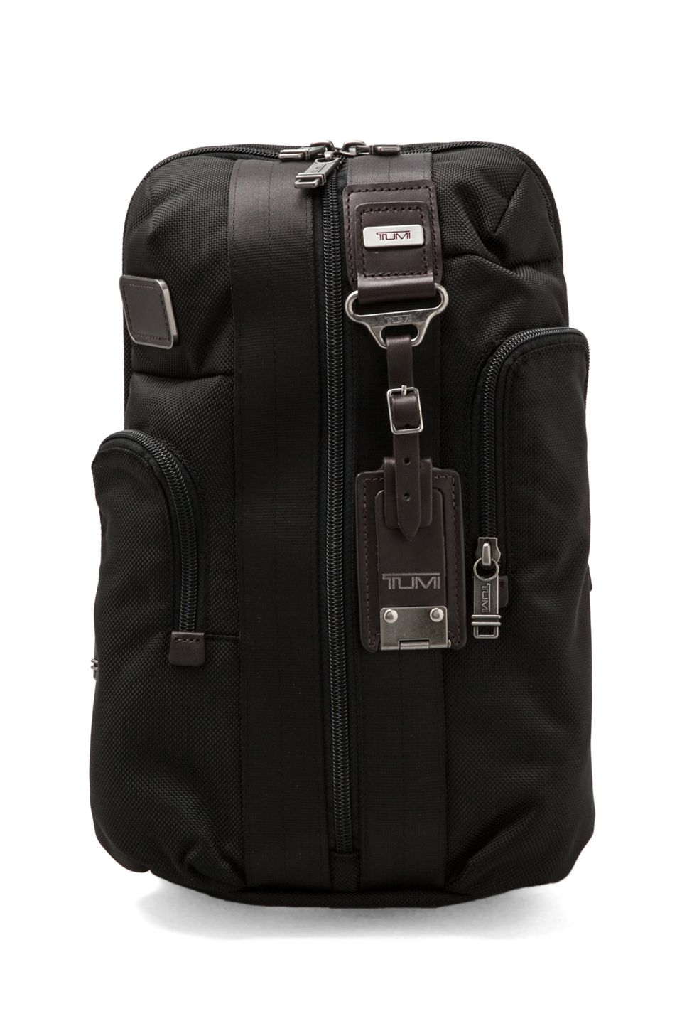 b12637de2ddf Tumi Alpha Bravo Monterey Slim Backpack in Hickory from REVOLVEclothing