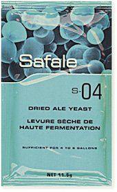 Safale Ale S 04 Whitbread Strain 11 Ale Cider Making