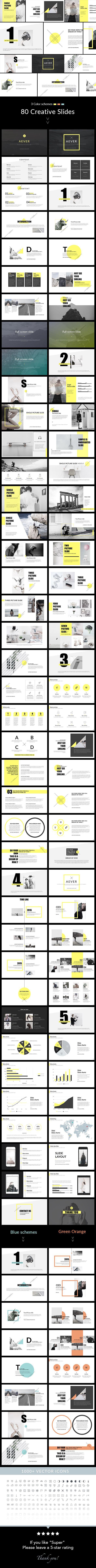 AEVER PowerPoint Presentation Template Creative PowerPoint