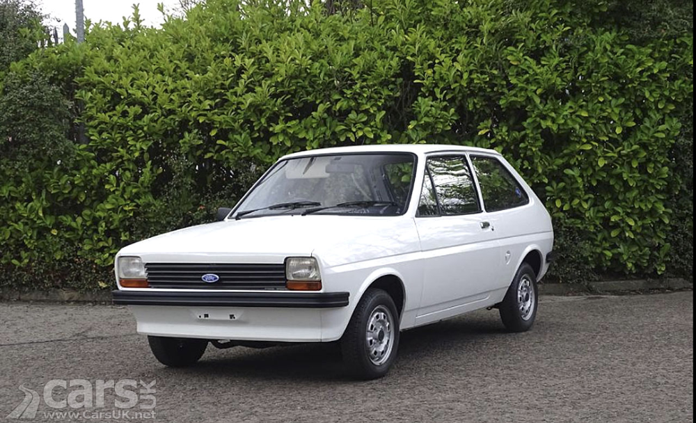 NEW 1978 Ford Fiesta 950 up for grabs