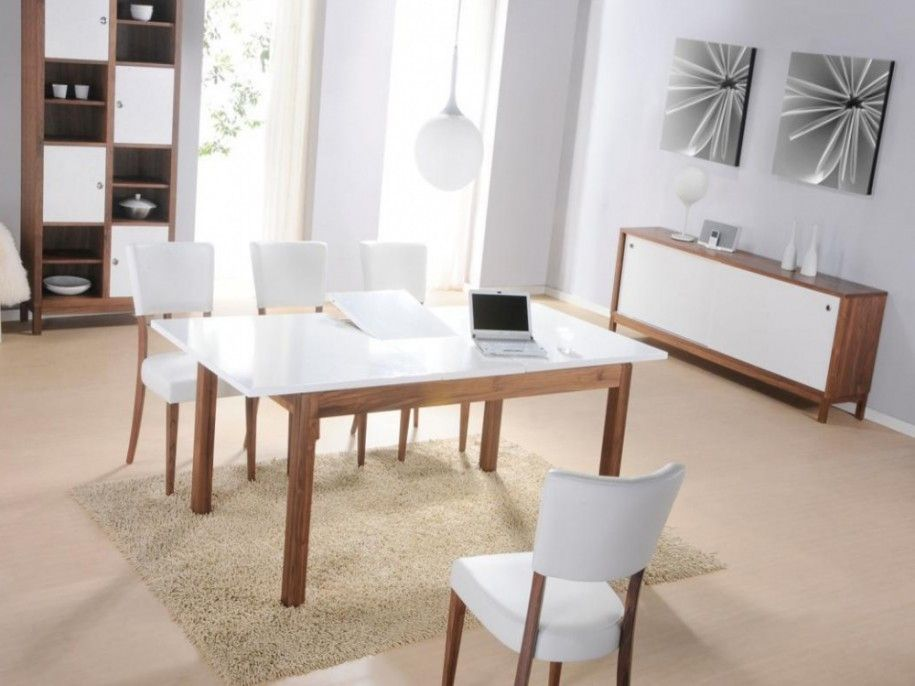 awesome Modern White Dining Tables Design Stylendesigns