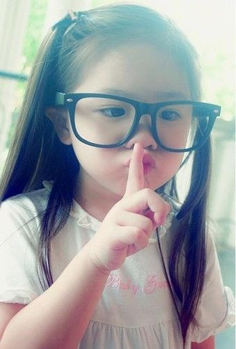 Hipster toddler lol