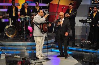 El Chaval junto a Jochy Santos en la edición de hoy de Divertido con Jochy