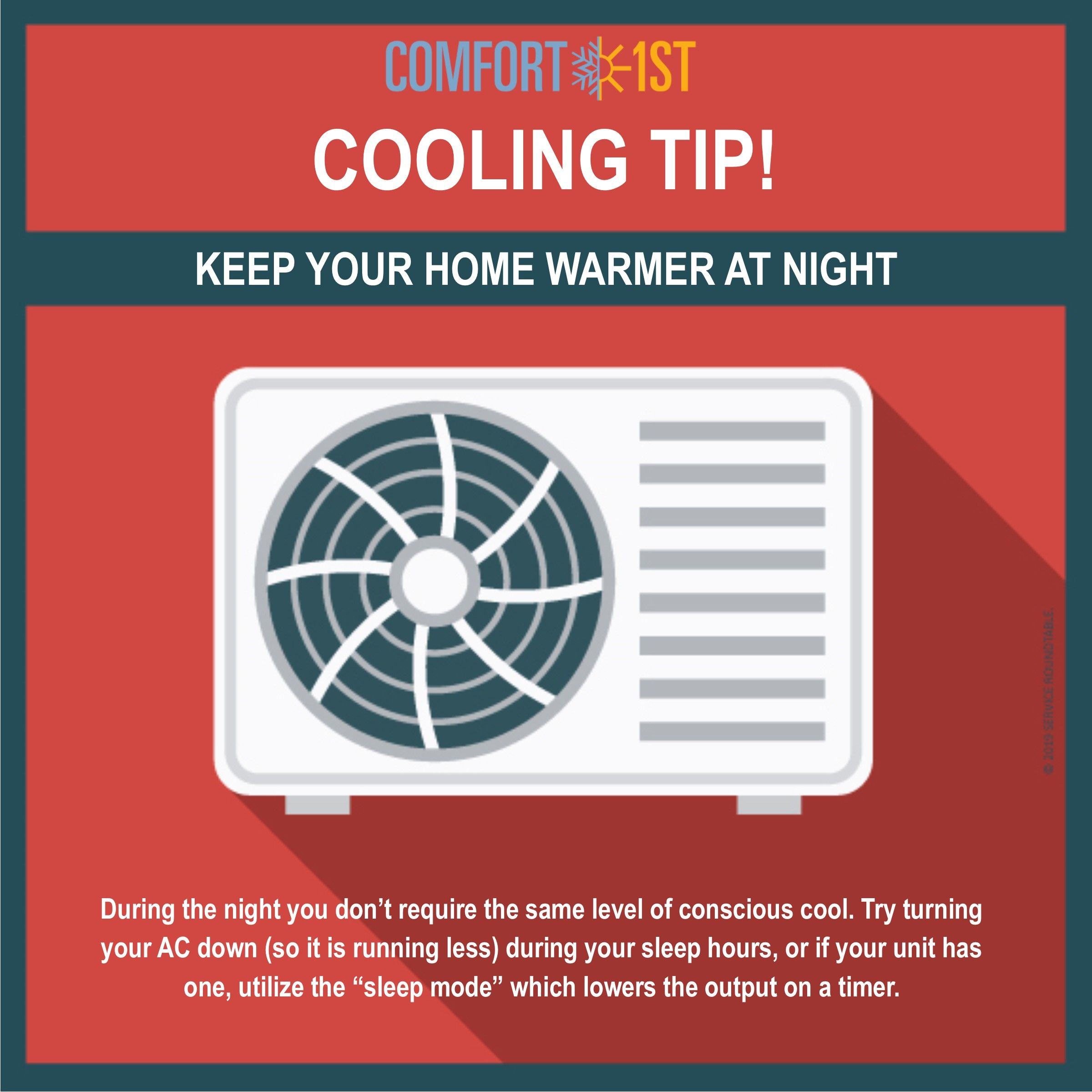 Katelyn here with your monthly Cooling Tip! As the