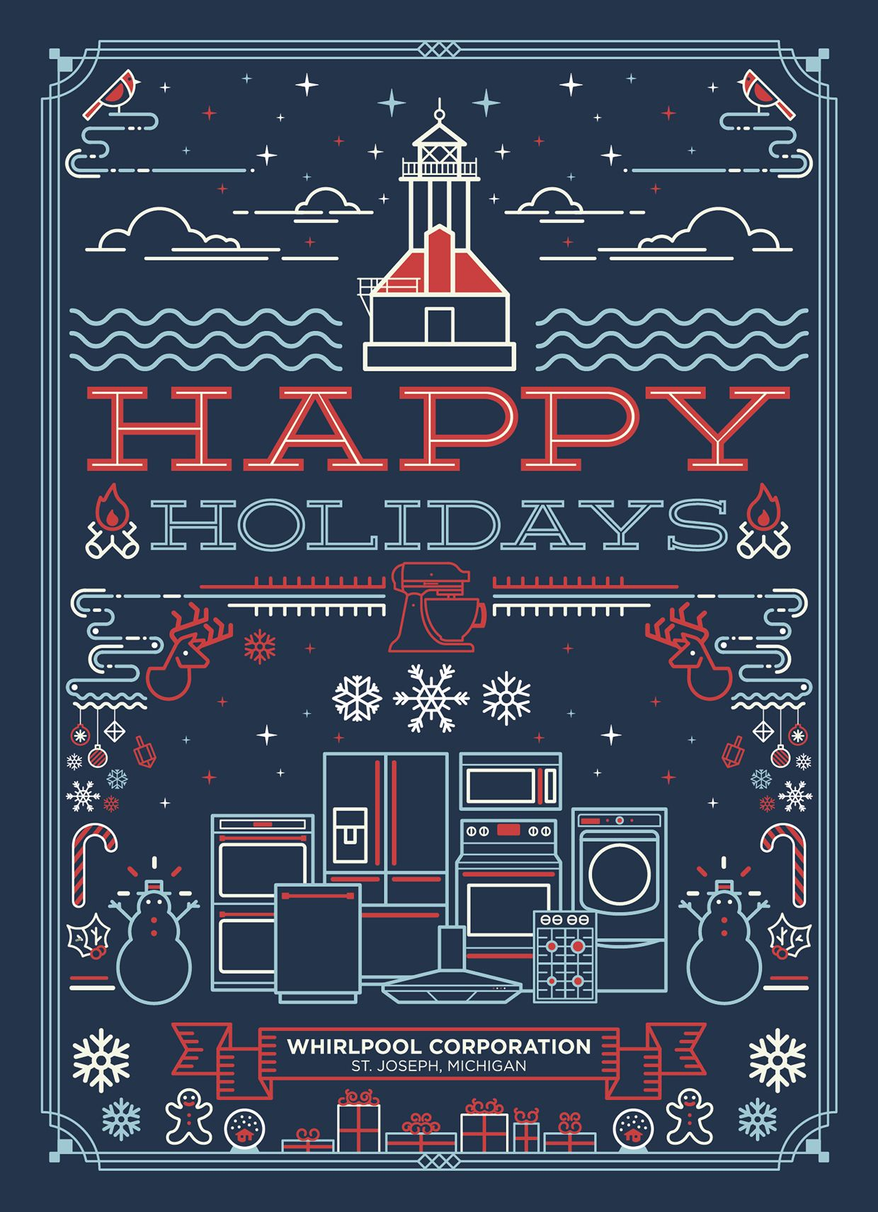 Top Result 50 Awesome Business Holiday Cards Pic 2018 Hiw6 2017
