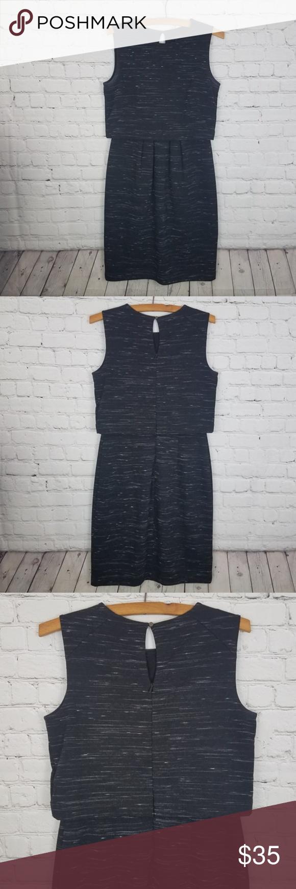 Ann Taylor Black Heather Dress Size 4t Tall Classy Dress Dresses Ann Taylor Dresses [ 1740 x 580 Pixel ]