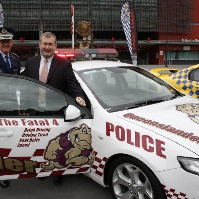 Qld Police Falcon Xr6 Turbo Police Cars Police Auto Service
