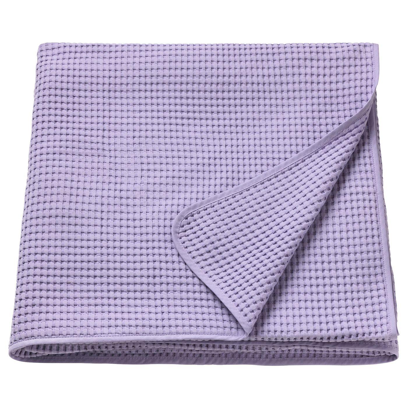Ikea Vareld Bedspread Lilac Tagesdecke Lila Tagesdecke
