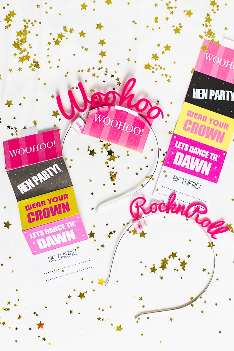 Free Printable Hen Party Invites Invitations Bachelorette Party With
