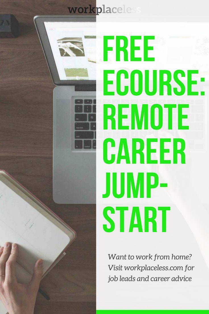 Free Ecourse Remote Career Jump Start Help
