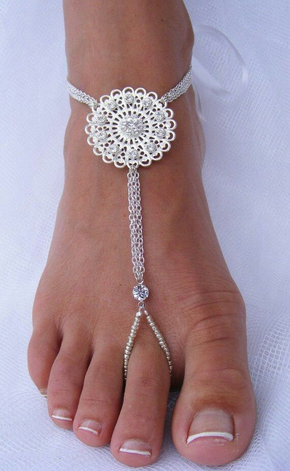 These Are Foot Jewelry You Wouldnt Call The Equivalent To Hand Gloves Would I Hope Not