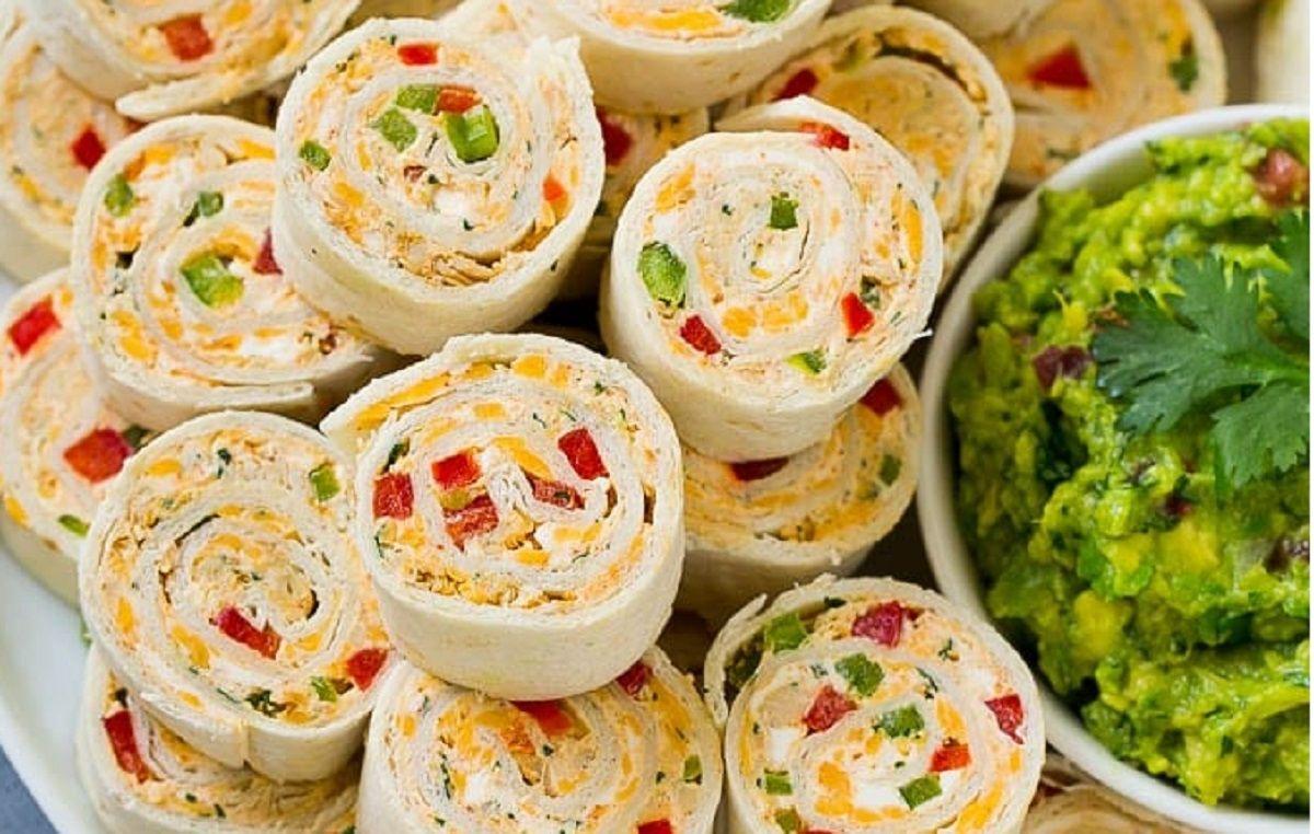 Recette Roulades De Tacos Recette Buffet Froid Recette Recette Buffet