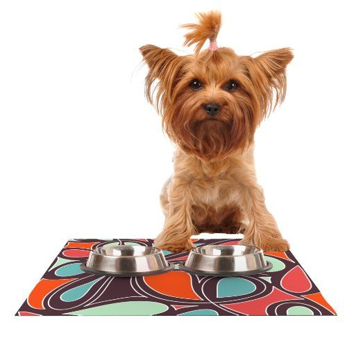 "Kess InHouse Miranda Mol ""Retro Swirl"" Feeding Mat for Pet Bowl, 24 by 15-Inch Kess InHouse,http://www.amazon.com/dp/B00K3G9W4Q/ref=cm_sw_r_pi_dp_TqGBtb0HF1MHAH42"