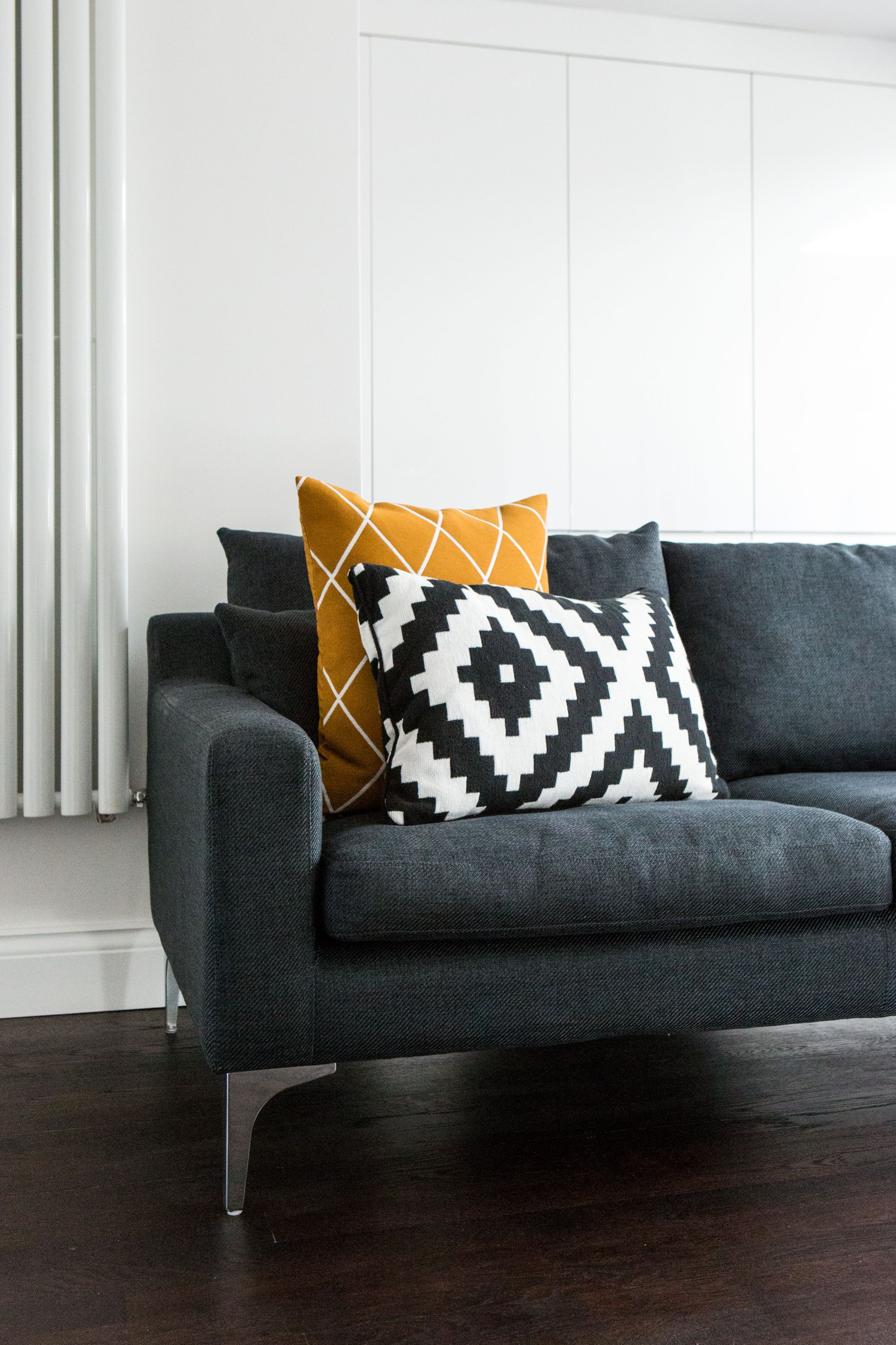 IKEA and H&M geometric cushions Geometric cushions