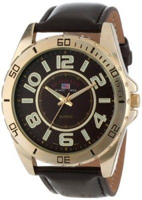 188a7bbb3a6 Relógio U.S. Polo Assn. Classic Men s US5160 Brown Dial Brown Strap Watch   Relógio  U.S. Polo Assn