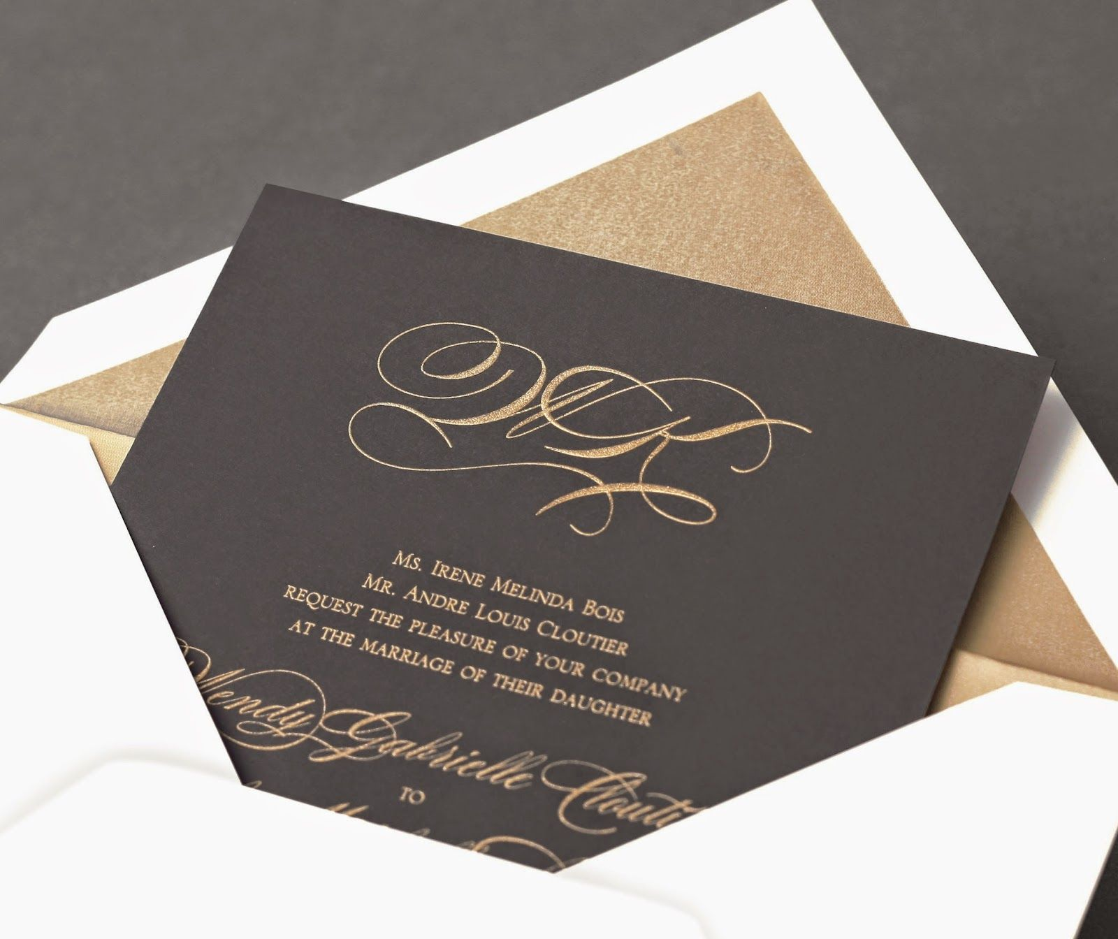 William Arthur Blog The Signature Of Fine Stationery Our Wedding