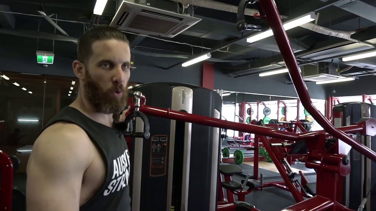 Beyond Fitness Centurion Isolated Lat Pull Fitness Lat No Equipment Workout