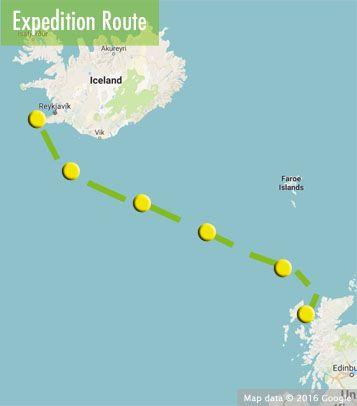 Ocean Voyage From Iceland To The Hebrides September 04 17 2017 Starts In Reykjavik