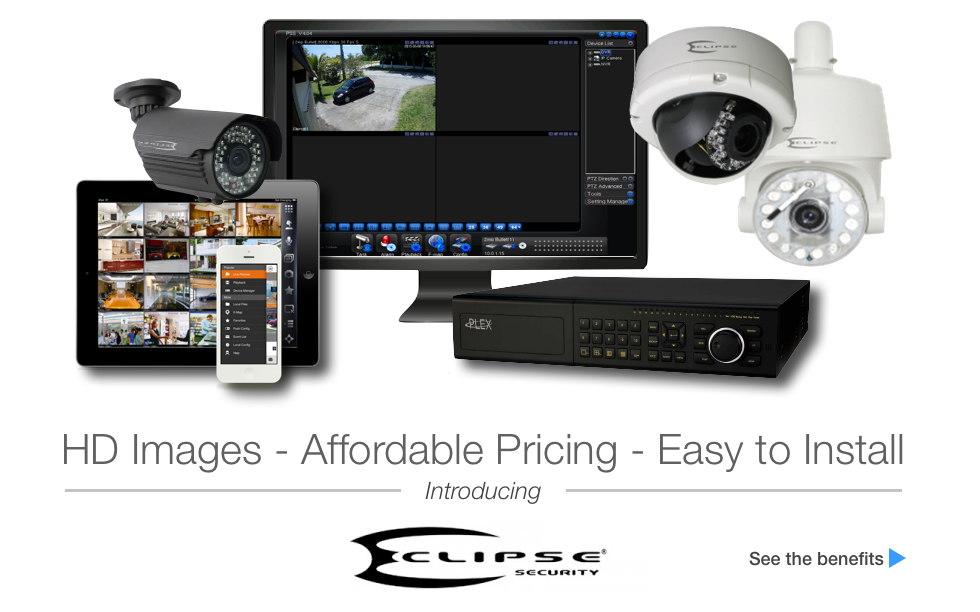 Eclipse Surveillance - HD Security Cameras and CCTV Systems  IP, HD