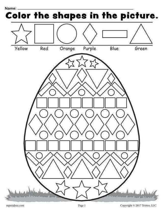 Kostenlose Ostereierzeuger Arbeitsblatt Malvorlagen Arbeitsblatt Formen Ko Arbeitsblatt For Easter Math Easter Worksheets Easter Math Worksheets