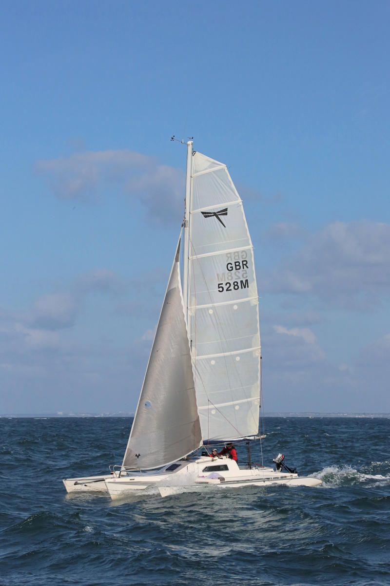 Dragonfly 800 - very well equipped | Sailing | Sailing