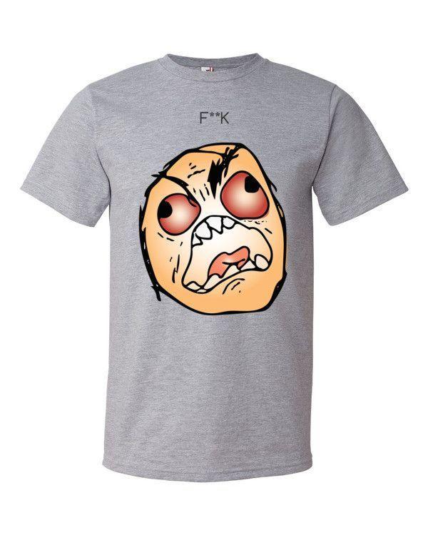 F**K Meme - Bright Background - Short sleeve t-shirt