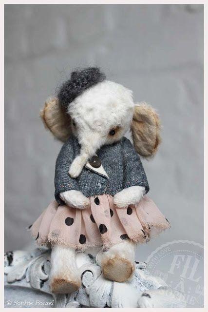 Pin von sharon van brenkelen auf hand made stuffed animals ...