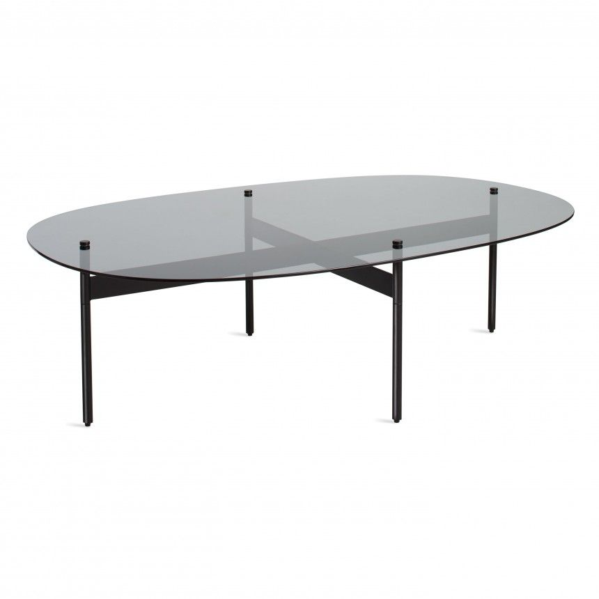 Flume Swoval Coffee Table multiple sizes Blu Dot NYC