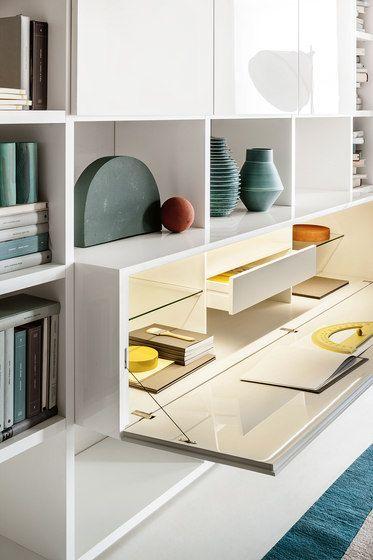 Pareti attrezzate | Mobili contenitori | Selecta | LEMA. Check it ...