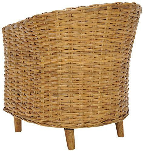 Omni Barrel Chair Honey/Honey Oak Safavieh Https://www.amazon.