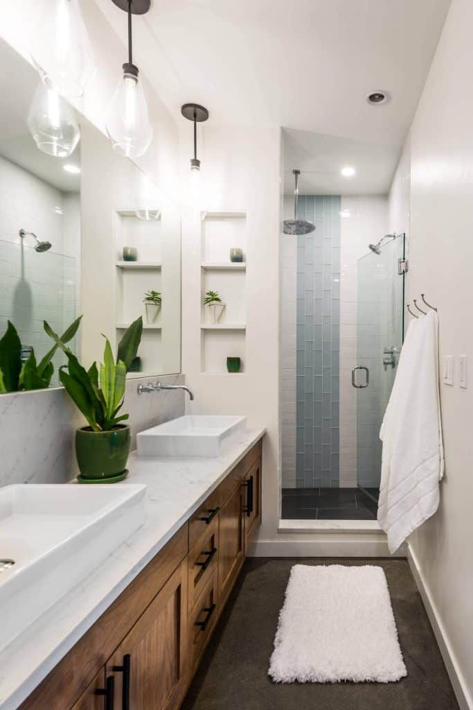 Photo of 44 FREE Shower Tile Ideas and Designs for 2020
