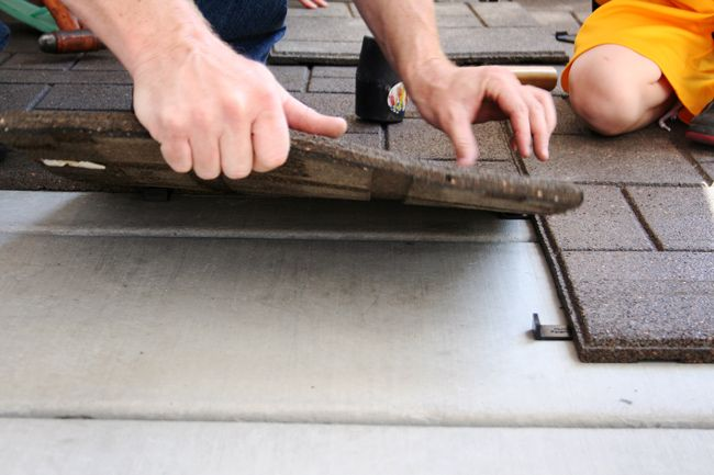 Ideas For Covering Concrete Patio Find This Pin And More On Neat Ideas For  The Home