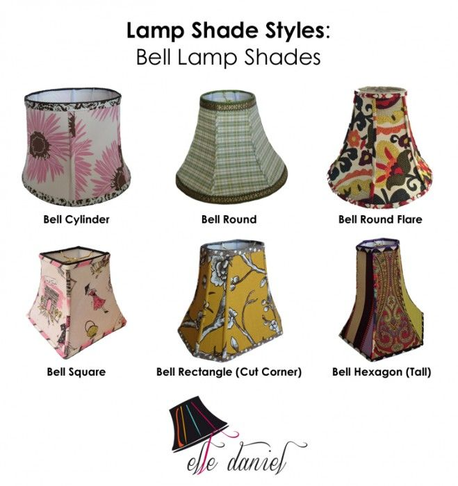 Bell lamp shade styles 3 lamps rugs tapestries pinterest bell lamp shade styles aloadofball Image collections