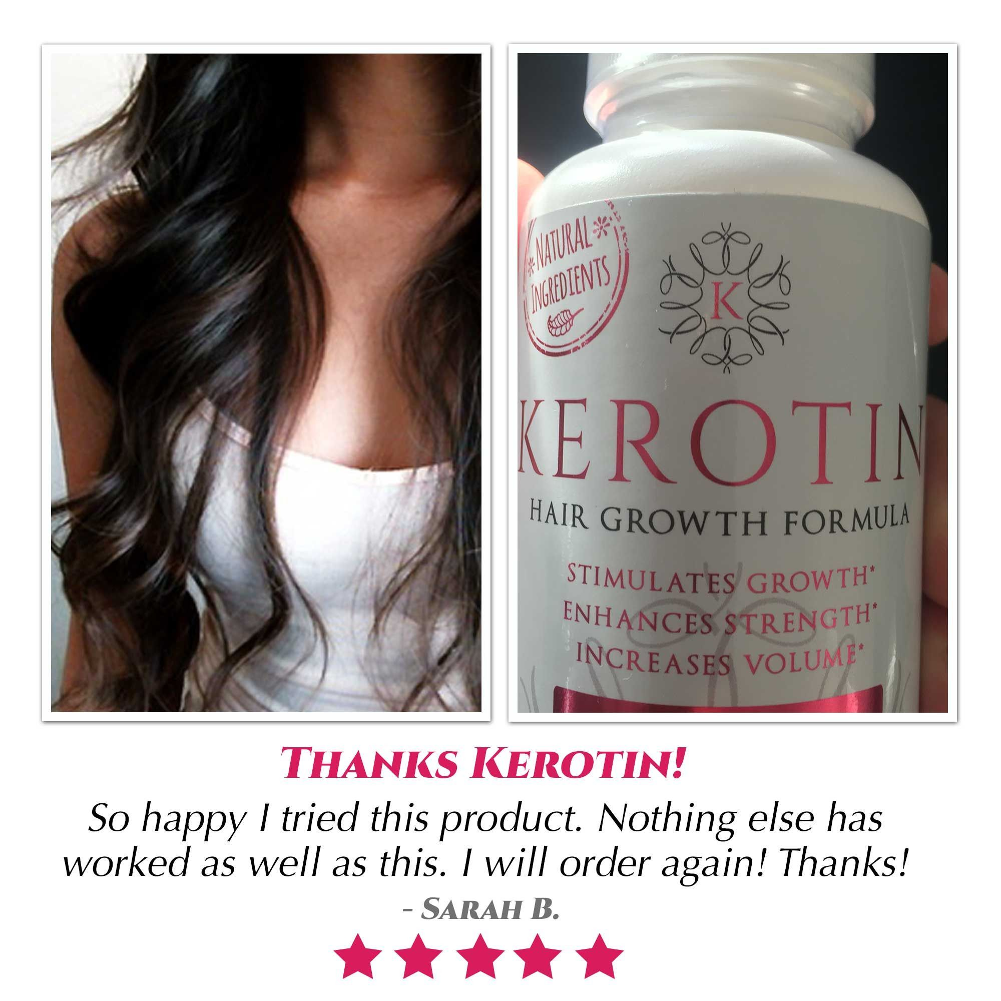 Hair Growth Vitamins 1 Bottle 30 Day Supply Pinterest