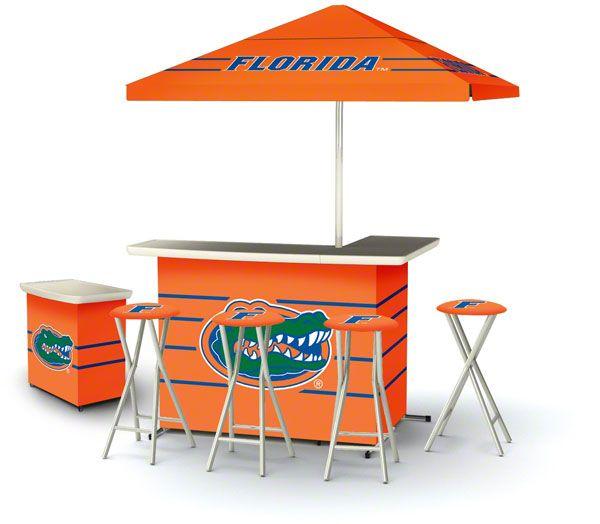 Florida Gators Deluxe Portable Tailgate Bar Set | Florida ...
