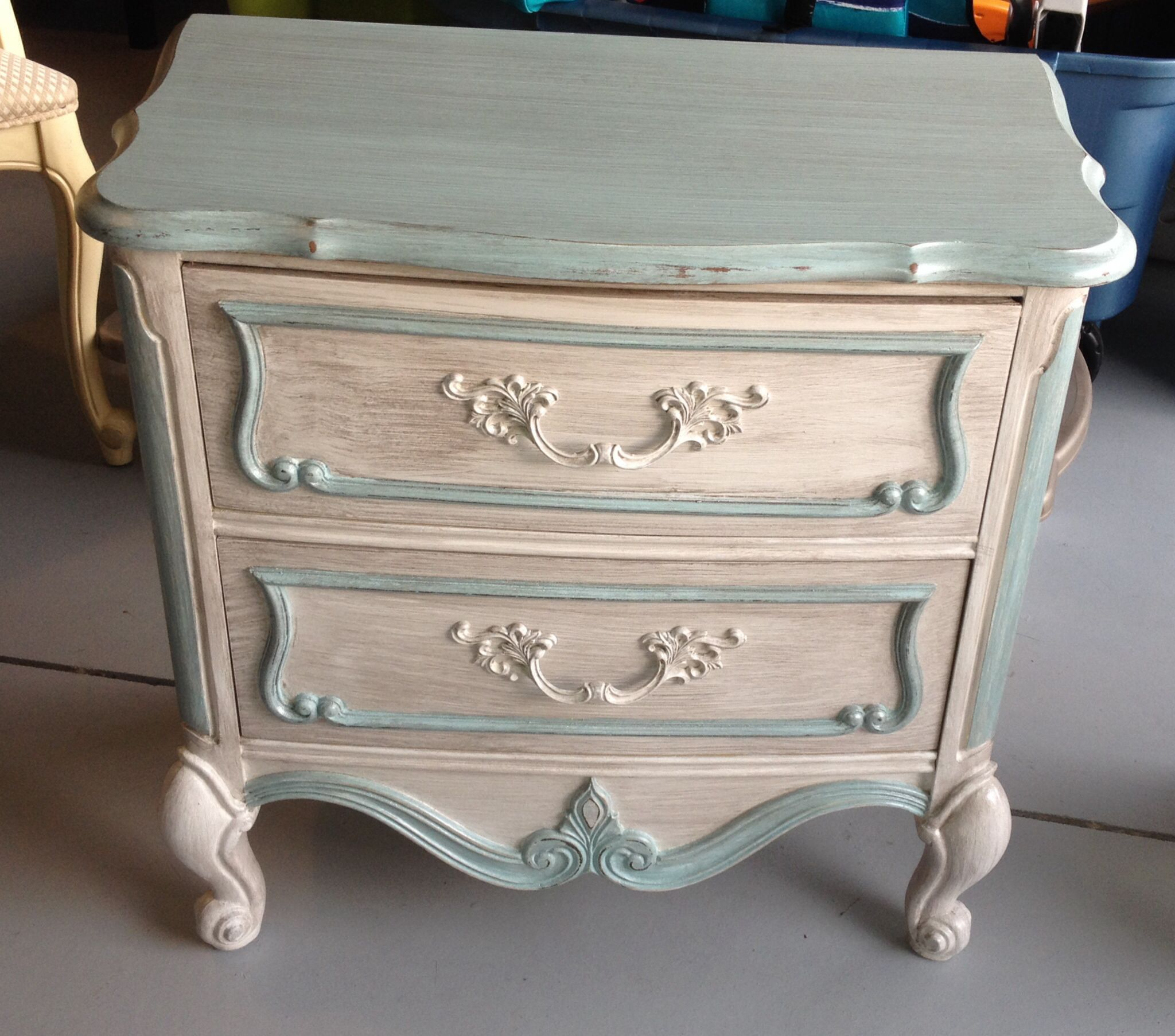 Repainted furniture Repurposed stuff Pinterest