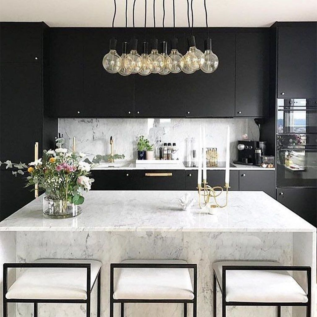 48 Chic Kitchen Design Ideas That Suitable For You