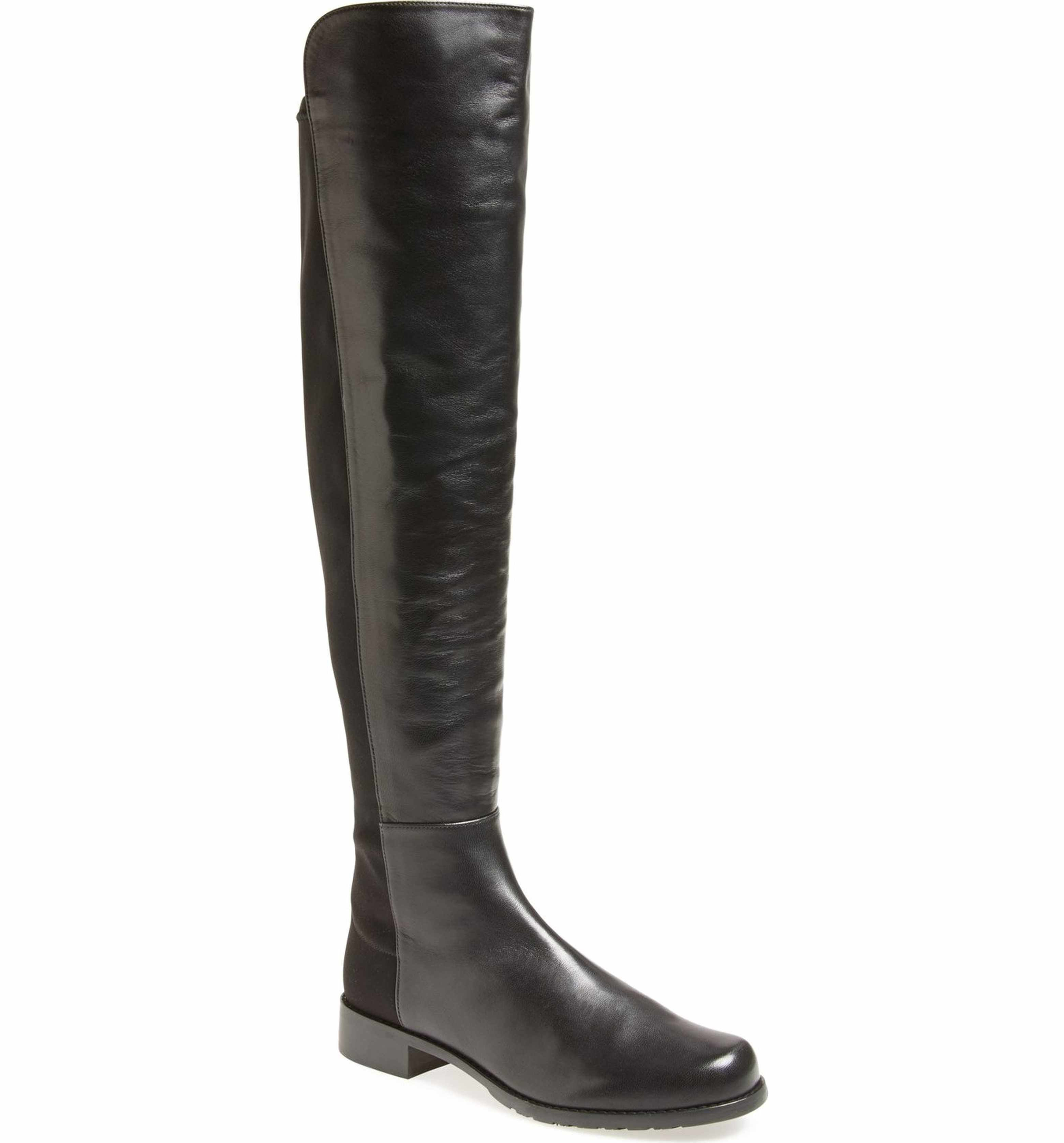 Stuart Weitzman 5050 Over The Knee Leather Boot (Women